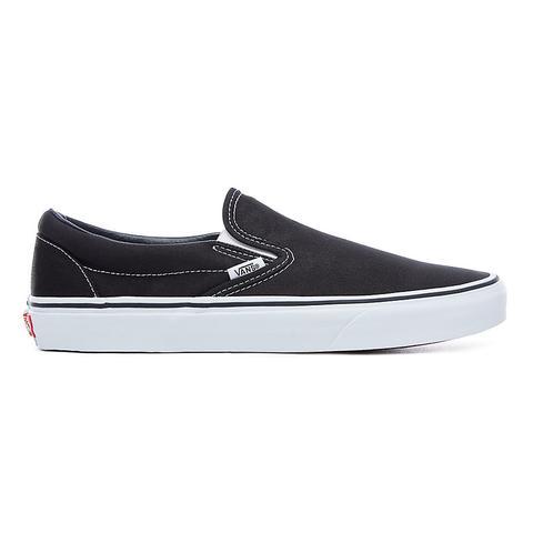 Vans Zapatillas Classic Slip-on (black) Mujer Negro de Vans en 21 Buttons
