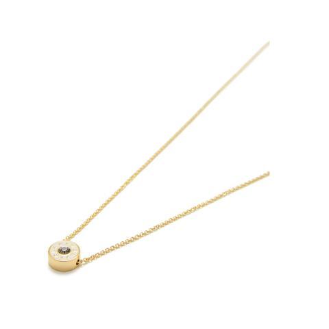 precio de descuento calidad asombrosa rebajas(mk) Collar Corto Fino Logo Marfil from Bimba Y Lola on 21 Buttons