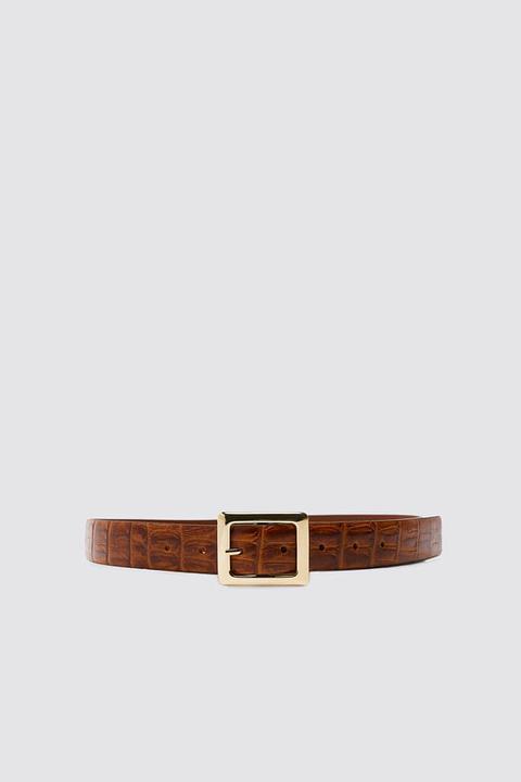 Cinturón Piel Labrada