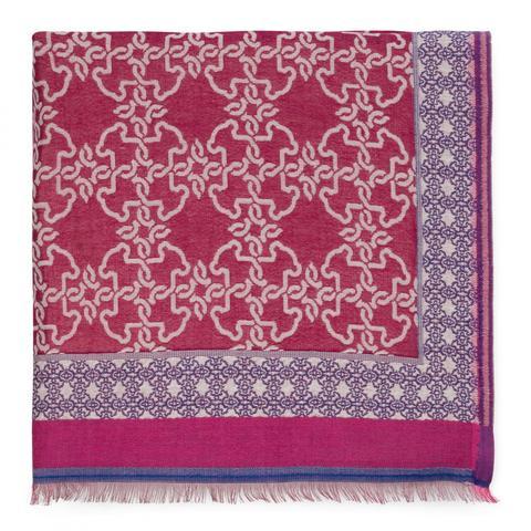 Foulard Mossaic En Color Burdeos de Tous en 21 Buttons