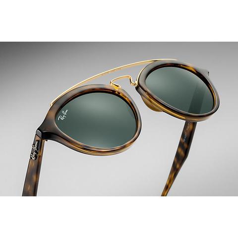 Rb4257 Gatsby Ii Mujer Sunglasses Lentes: Verde, Montura: Habana