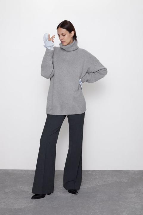 Jersey Oversize Lana de Zara en 21 Buttons