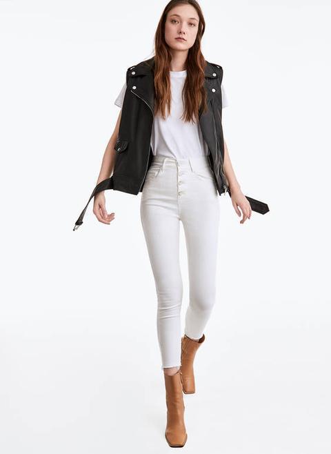 Pantalons Botons Metàl·lics de Uterqüe en 21 Buttons