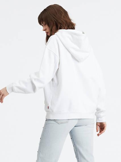 Unbasic Hoodie Blanco / White