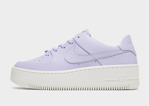purple air force ones womens