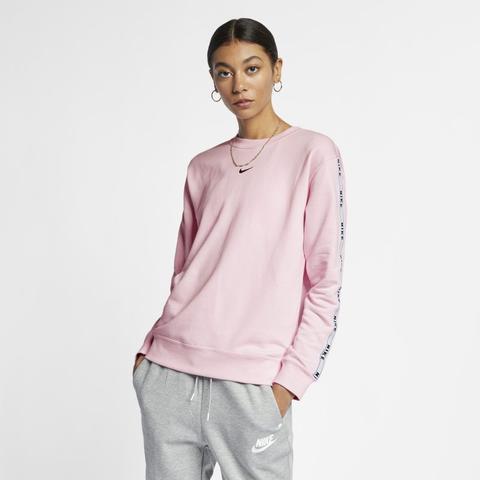 Maglia A Girocollo Con Logo Nike Sportswear Rosa from Nike on 21 Buttons
