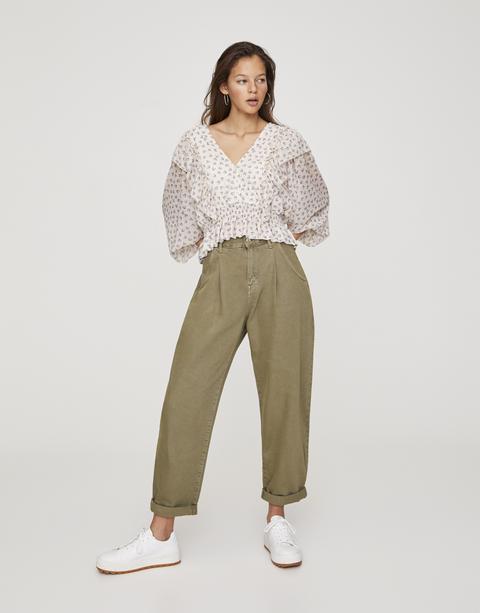 Jeans Slouchy Básicos Color
