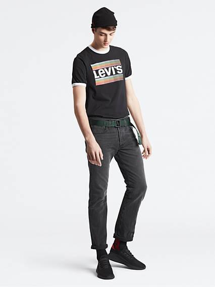 501® Levi's® Original Fit Jeans Negro / Solice de Levi's en 21 Buttons