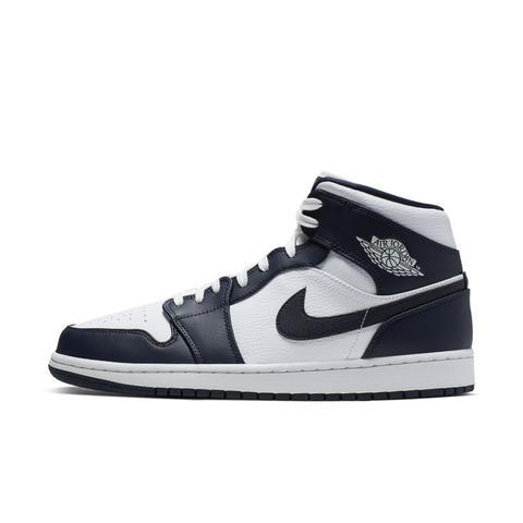 Scarpa Air Jordan 1 Mid - Uomo - Bianco de Nike en 21 Buttons