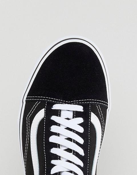 Vans - Old Skool - Sneakers Nere Vd3hy28 - Nero