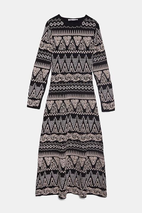 Vestido Bordado Edición Limitada de Zara en 21 Buttons