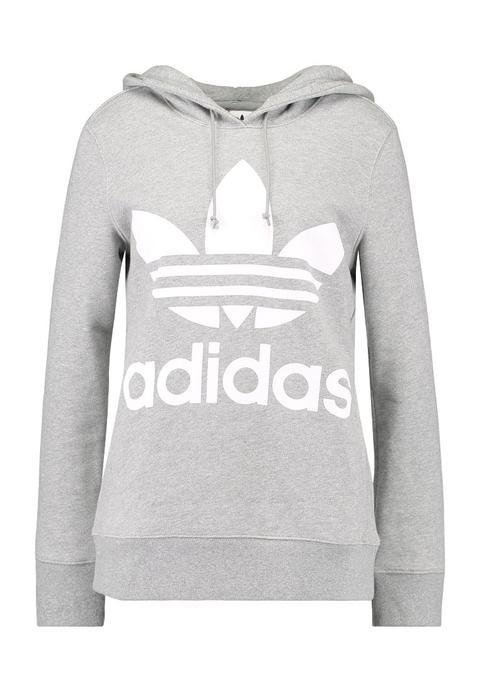 Intestinos presumir Inocencia  Adidas Originals Adicolor Trefoil Hoodie Jersey Con Capucha Grey from  Zalando on 21 Buttons