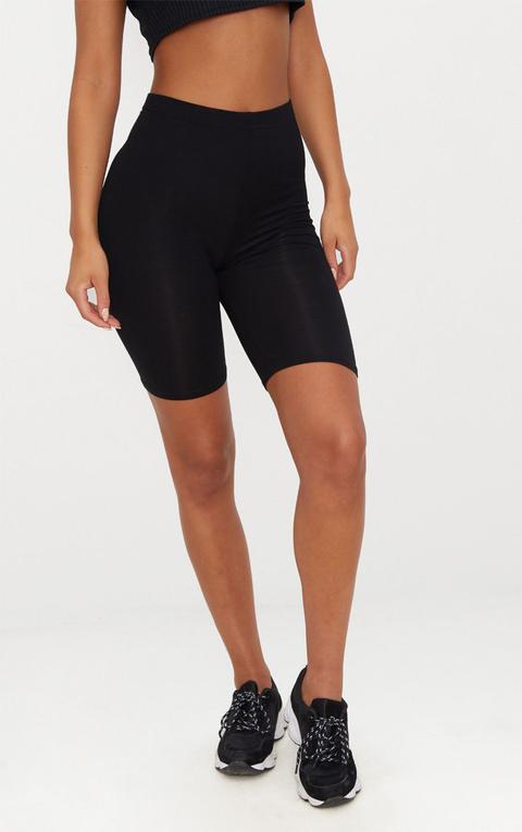 Basic Black Cycle Shorts