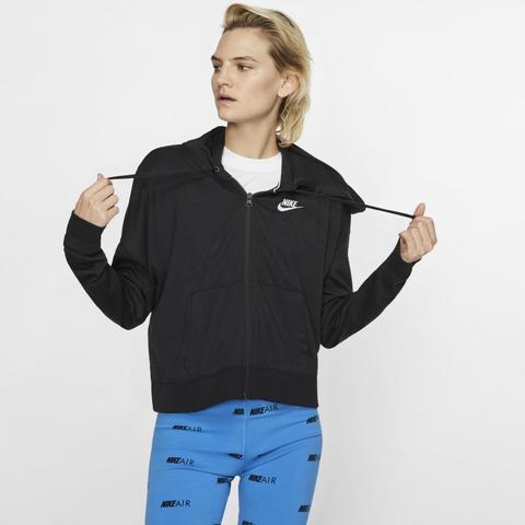 Nike Sportswear Sudadera Con Capucha Y Cremallera Completa - Mujer - Negro