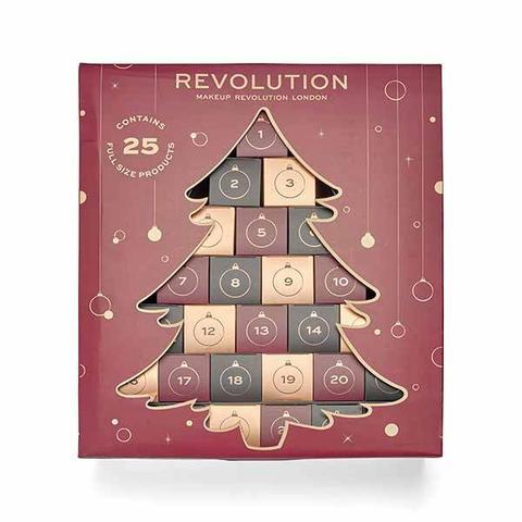 Makeup Revolution 62cm Christmas Tree Beauty Advent Calendar