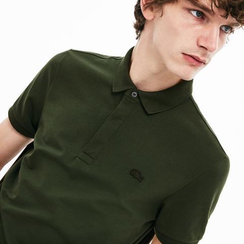 945087e0df Men's Regular Fit Mini Piqué Shirt from Lacoste on 21 Buttons