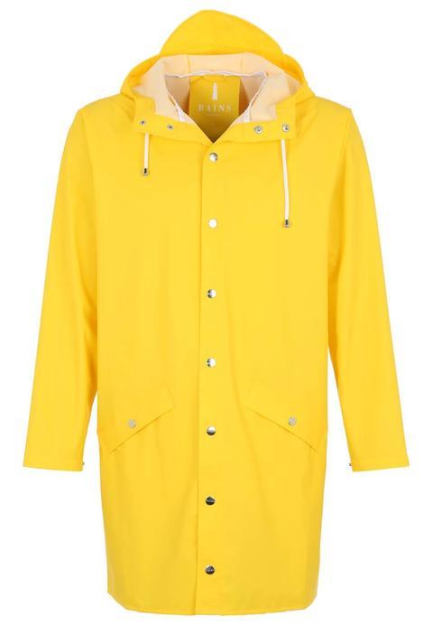 Rains Long Jacket Parka Yellow de Zalando en 21 Buttons