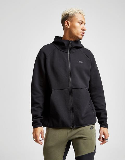 Nike Sudadera Tech Fleece Windrunner, Negro de Jd Sports en 21 Buttons