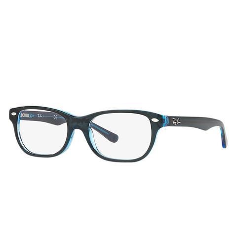 Rb1555 Unisex Optical Lentes: Multicolor, Montura: Azul de Ray-Ban en 21 Buttons