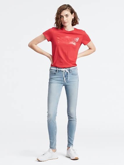 710™ Super Skinny Jeans Azul / Globe Trotter de Levi's en 21 Buttons