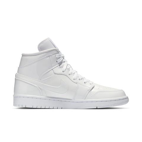 la meilleure attitude 4350d 1af28 Chaussure Air Jordan 1 Mid Pour Femme - Blanc from Nike on 21 Buttons