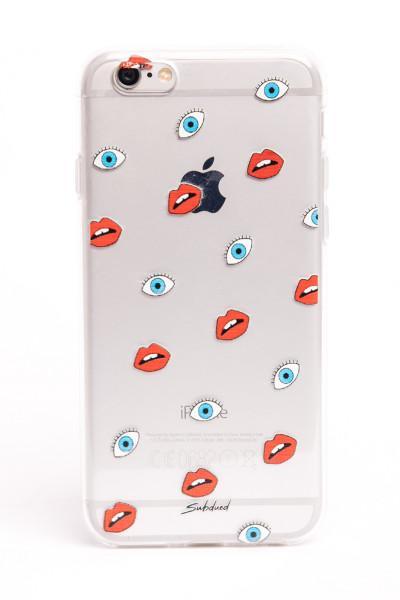cover iphone con occhi