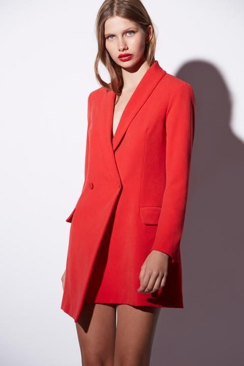 Vestido Casual Modelo Oca Rojo From Etxart Panno On 21 Buttons