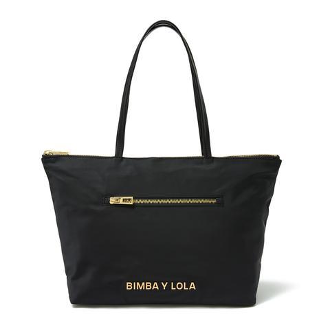 Bolso Shopper Mediano Negro de Bimba Y Lola en 21 Buttons