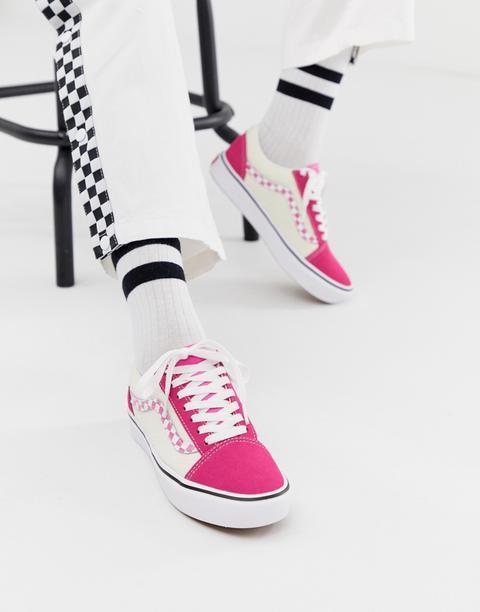 vans cuori rosa