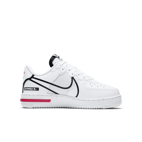 Chaussure Nike Air Force 1 React Pour Enfant Plus Âgé - Blanc from ...