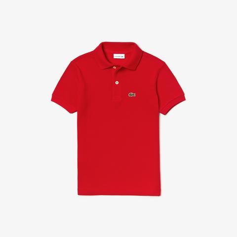 Polo Enfant Lacoste En Petit Piqué Uni from Lacoste on 21 Buttons