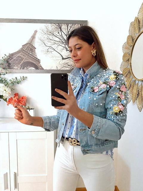Cazadora Perlas Y Flores de Be AmazinG Shop en 21 Buttons
