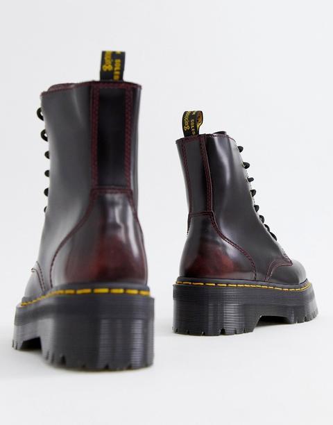 Dr Martens Exclusive Cherry Jadon Boots