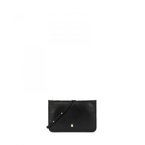 Bandolera Mini Enara De Piel En Color Negro de Tous en 21 Buttons