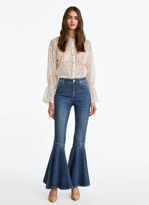 Pantalons De Campana de Uterqüe en 21 Buttons