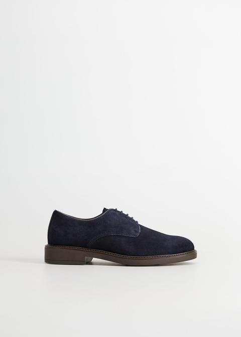 Zapato Blucher Serraje Ligero de Mango en 21 Buttons