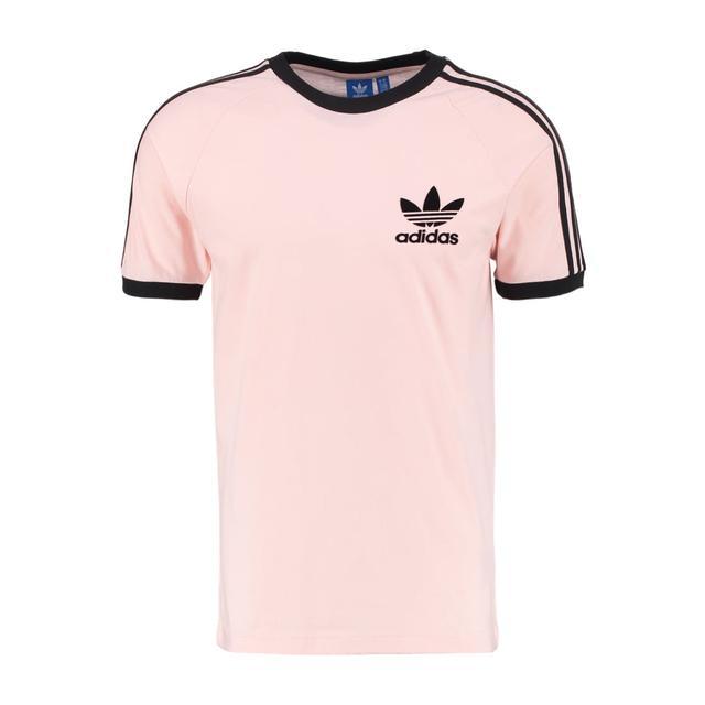 Funeral leyendo calculadora  Adidas Originals California Camiseta Print Pink/schwarz from Zalando on 21  Buttons
