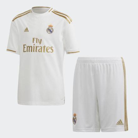 Miniconjunto Primera Equipación Real Madrid de Adidas en 21 Buttons