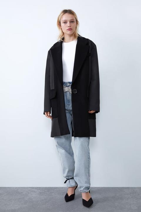 21 Abrigo Zara Tejido Buttons Masculino From Combinado On 2EeYHIWDb9