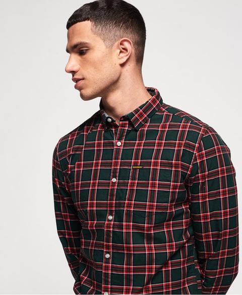Camisa Raw Oxford