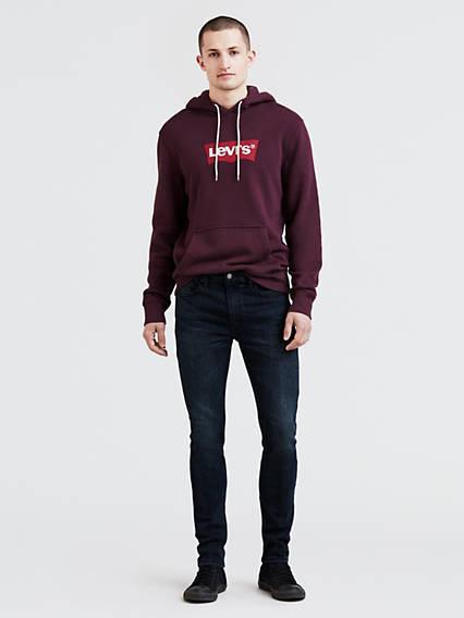 519™ Extreme Skinny Fit Jeans Advanced Stretch Negro / Rajah de Levi's en 21 Buttons
