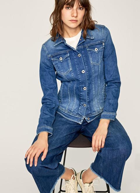 Cazadora Vaquera Clásica Thrift de Pepe Jeans en 21 Buttons