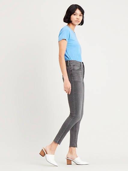 Mile High Super Skinny Jeans Black / Black