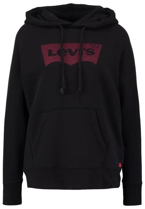 Levi's® Jersey Con Capucha Jet Black de Zalando en 21 Buttons