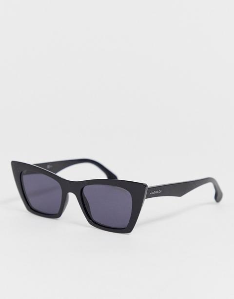 Gafas De Sol Con Montura Cuadrada En Negro De Carrera de ASOS en 21 Buttons