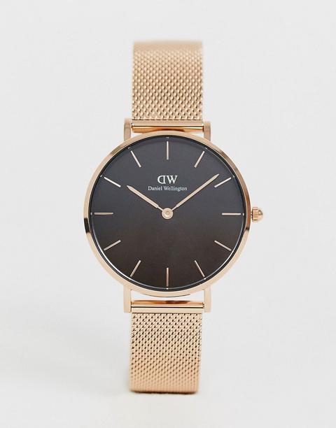 Reloj De Malla En Dorado Rosa Dw00100161 De Daniel Wellington de ASOS en 21 Buttons