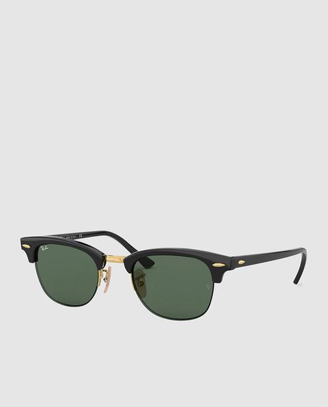 9ec74d49c Ray-ban - Gafas De Sol Unisex Clubround De Acetato En Color Habana Y ...