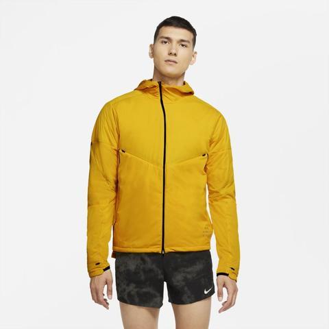 Nike Run Division Men's Dynamic Vent Running Jacket - Yellow