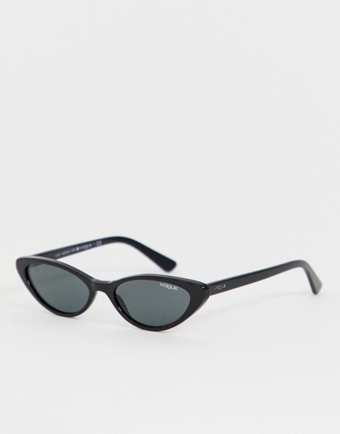 Gafas De Estilo Ojos De Gato 0vo5235s De Vogue Eyewear X Gigi Hadid-negro de ASOS en 21 Buttons