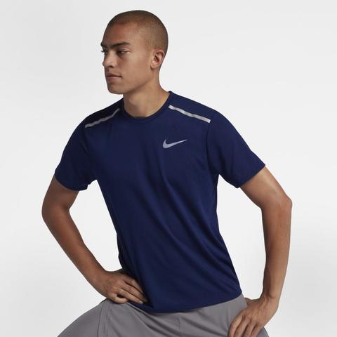 Nike Dri-fit Rise 365 Camiseta De Running De Manga Corta - Hombre - Azul  from Nike on 21 Buttons